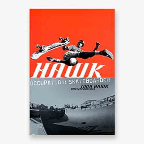 Tony Hawk, occupation skateboarder book cover
