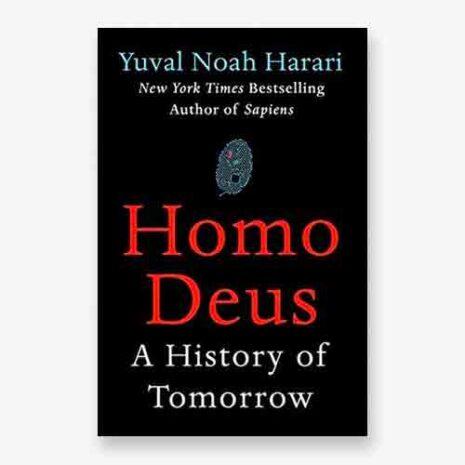 Homo Deus book cover