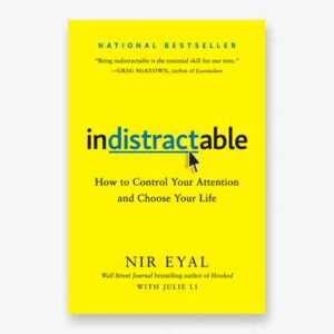 Indistractable book cover