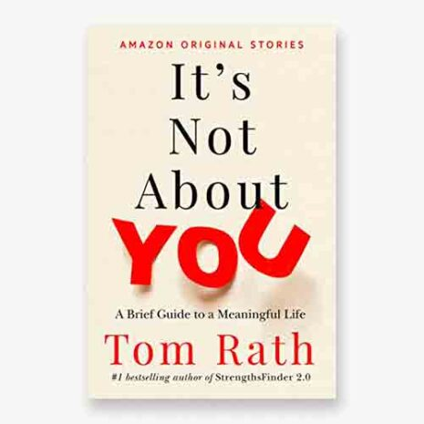 Its not about you book cover