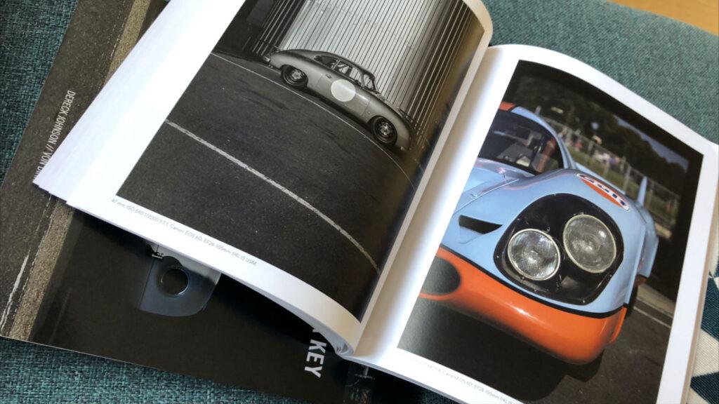 Sample spread of Von Dirk photo book